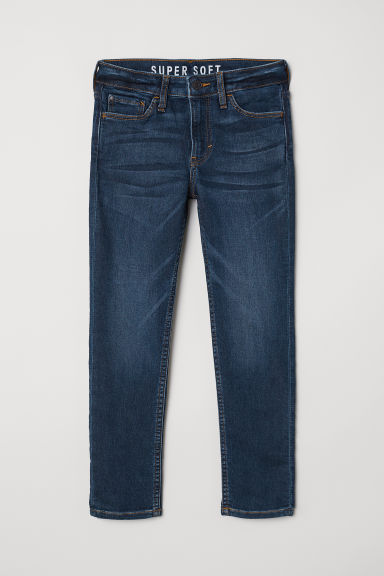 Super Soft Skinny Fit Jeans - Donkerblauw - KINDEREN | H&M BE
