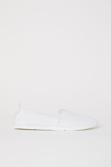 Slip-on trainers - White - Ladies | H&M CN