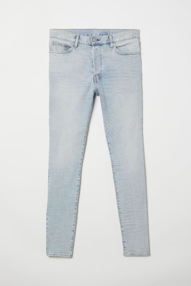 Skinny Carrot Jeans - Blu denim chiaro - UOMO | H&M IT