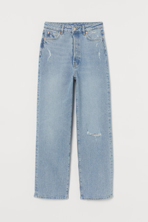 Vintage Straight High Jeans
