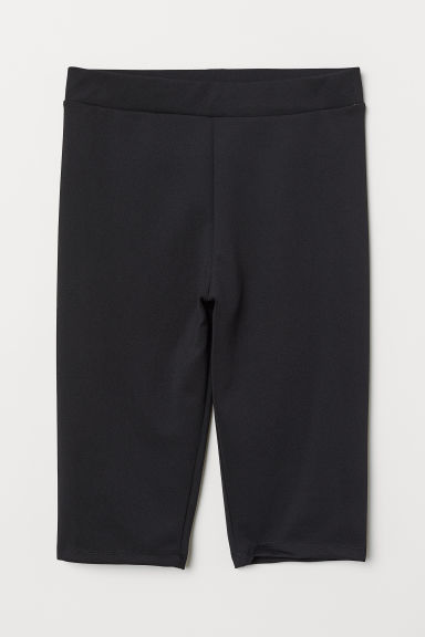 Jersey Cycling Shorts - Black - Ladies | H&M US