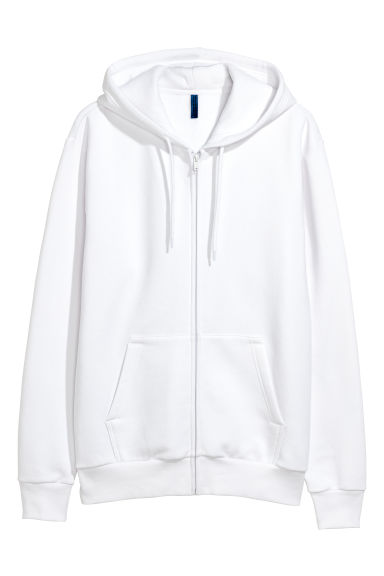 Hooded jacket - White - Men | H&M GB