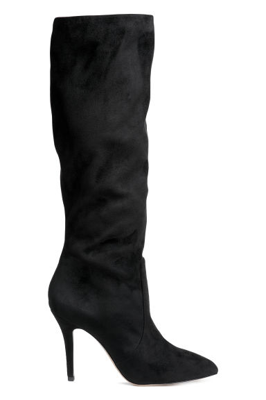 High-heeled boots - Black - Ladies | H&M CN