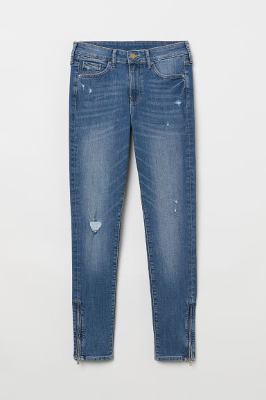 Skinny Regular Ankle Jeans - Denim blue - Ladies | H&M CN
