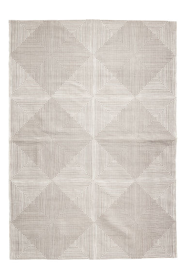 Patterned rug - Light mole -  | H&M GB