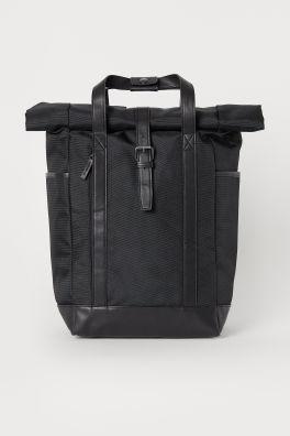 b329b1690 Weekend Bag. $49.99. Dark blue · Black · Backpack with Roll-top Opening