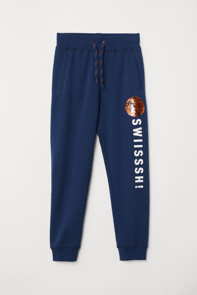 Joggers - Dark blue/Basketball -  | H&M CN