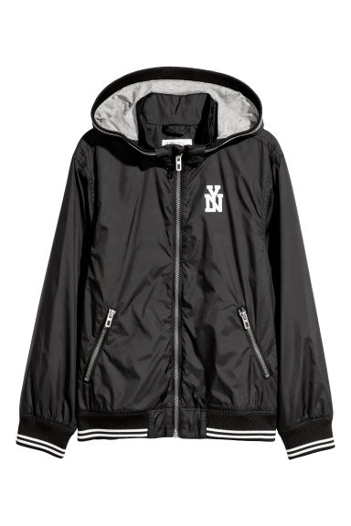 Nylon jacket - Black/NY - Kids | H&M