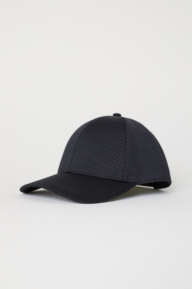Mesh cap - Black/Green spotted - Men | H&M