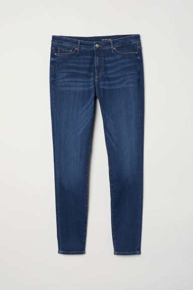 H&M+ Shaping Skinny Jeans - Dark denim blue -  | H&M