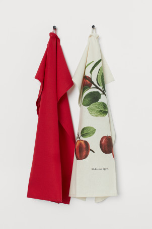2-pack Cotton Tea Towels