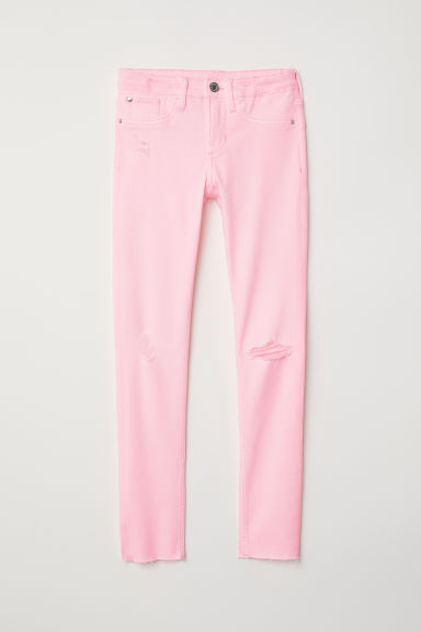 Superstretch Skinny Fit Jeans - Light pink - Kids | H&M