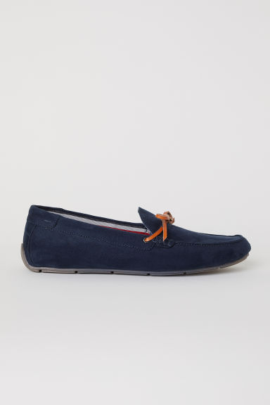 Loafers - Dark blue - Men | H&M