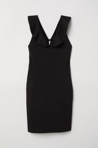 Bodycon dress - Black -  | H&M