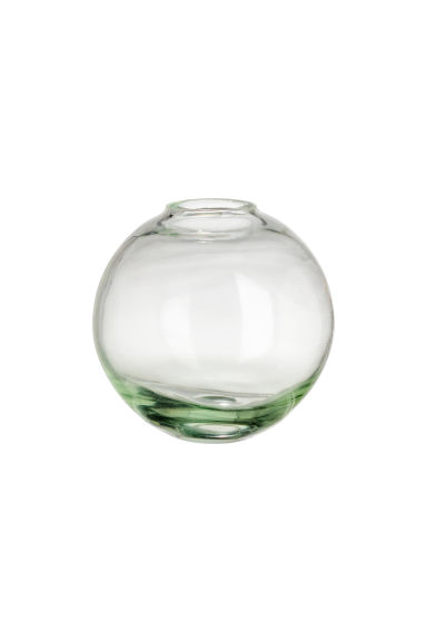 Mini vase en verre transparent - Vert - Home All | H&M FR