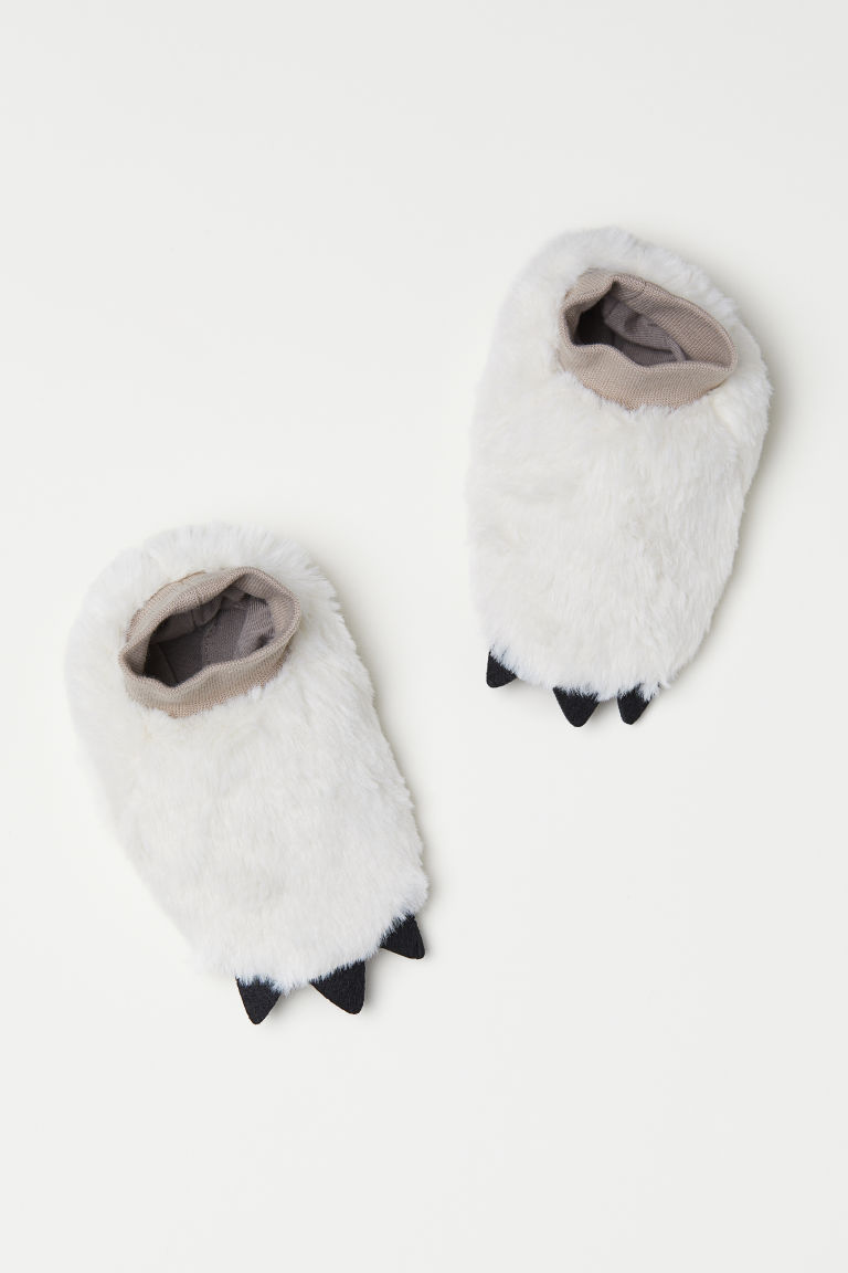 Pile bootees - White - Kids | H&M