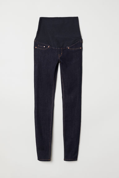 MAMA Super Skinny Jeans - Dark denim blue - Ladies | H&M