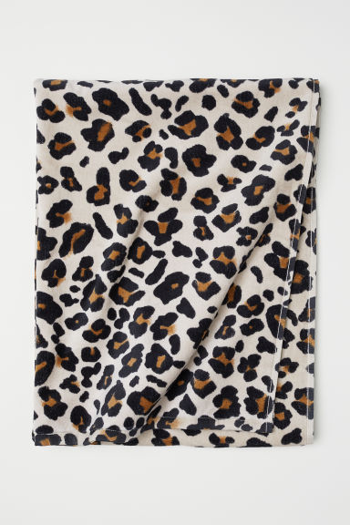 Telo bagno - Beige/leopardato - HOME | H&M IT