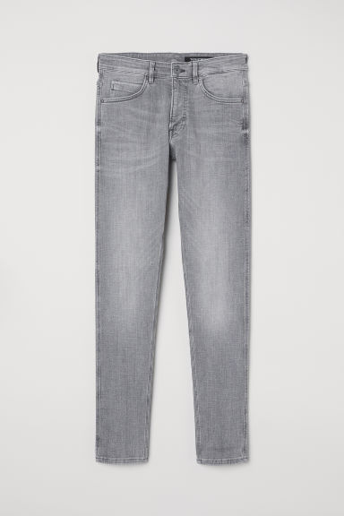 Tech Stretch Skinny Jeans - 淺灰色 -  | H&M