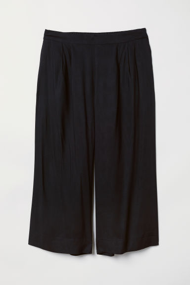 H&M+ Cropped trousers - Black - Ladies | H&M CN