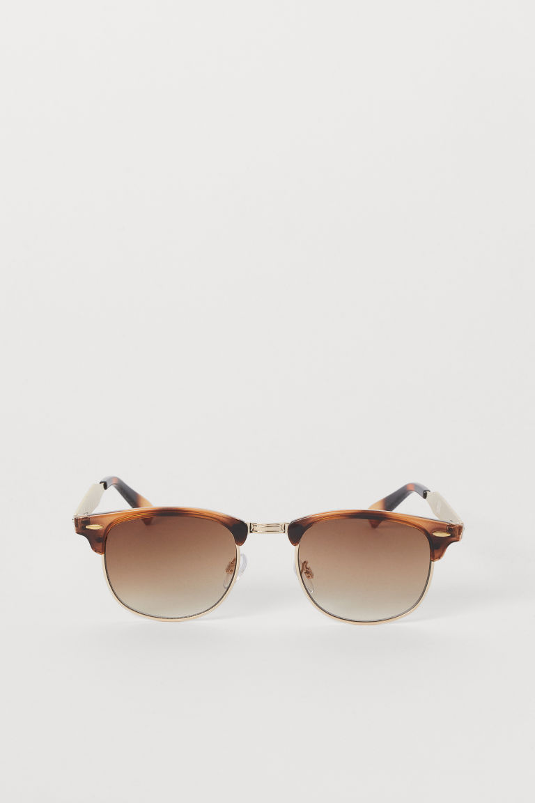 Sunglasses - Brown/gold-colored - Men | H&M US