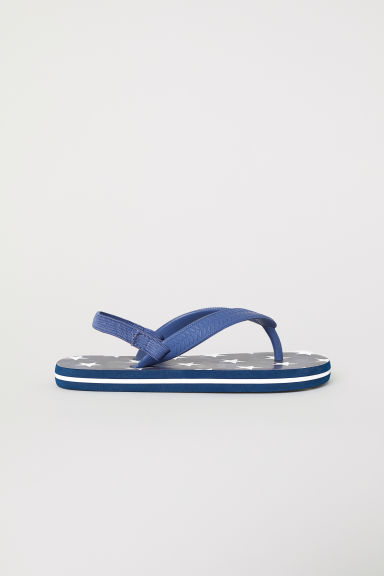 Flip flops - Dark blue/White - Kids | H&M