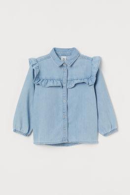 Girls' Blouses & Shirts | H&M GB