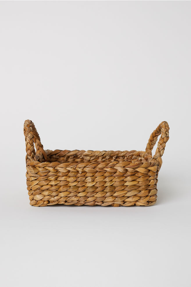 Stor Small Seagrass Basket - Natural - Home All | H&M US IZ-47