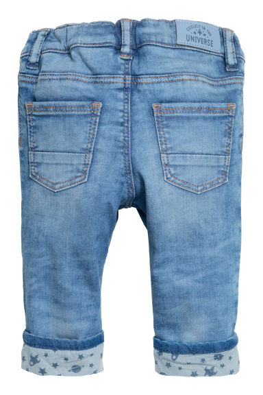 Slim fit Lined Jeans - Blu denim - BAMBINO | H&M IT
