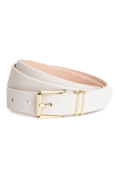 Belt - White -  | H&M CN