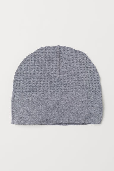 Seamless sports hat - Grey marl - Ladies | H&M