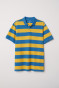 Yellow/Blue striped