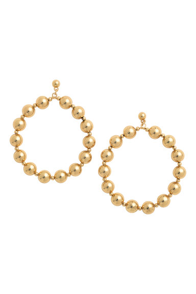 Large earrings - Gold-coloured - Ladies | H&M