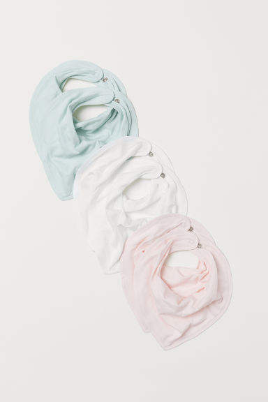 6-pack triangular scarves - Light pink - Kids | H&M