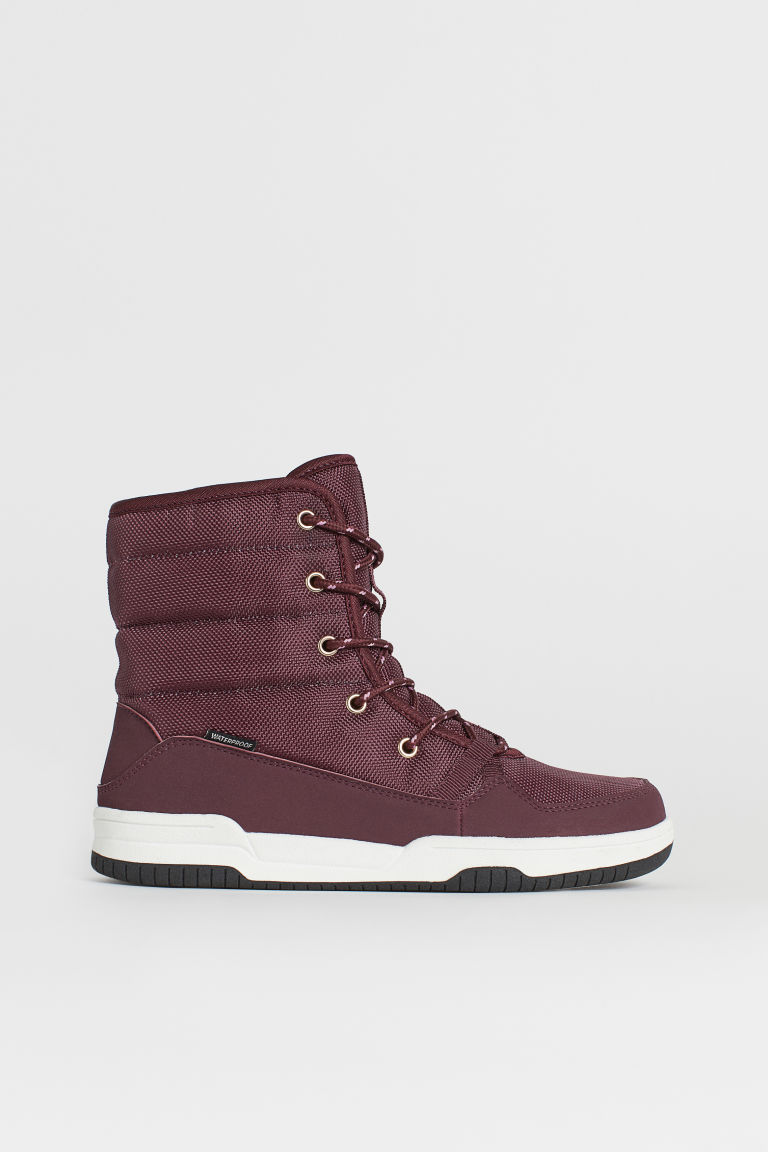 Waterproof boots - Dark red - Kids | H&M