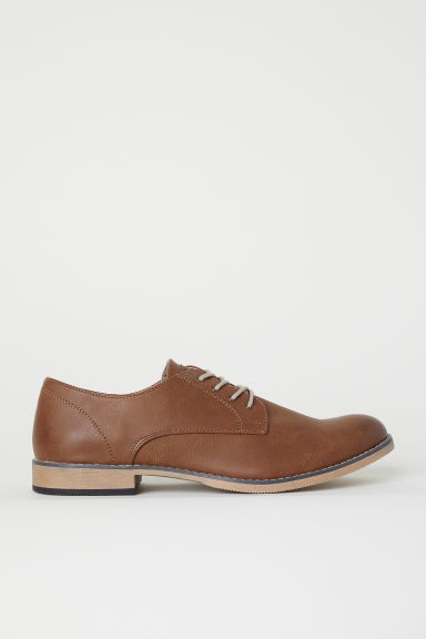 Derby shoes - Brown - Men | H&M