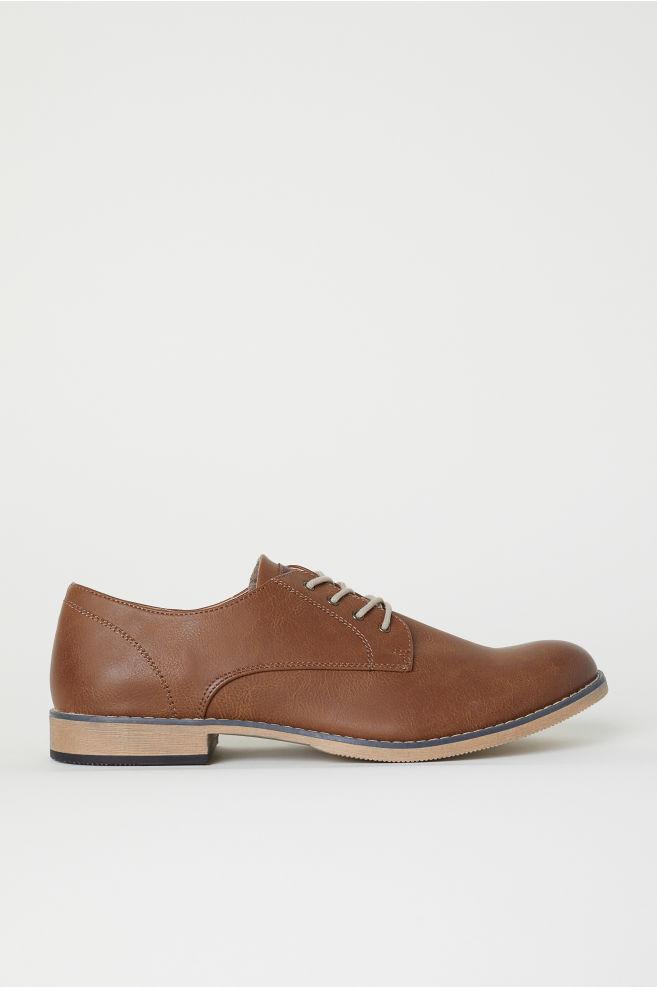 731eb125241f Derby cipő - Barna - FÉRFI | H&M ...