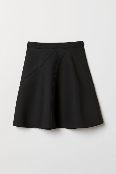 A-line skirt - Black -  | H&M