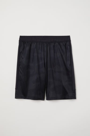 Sports shorts - Black - Men | H&M