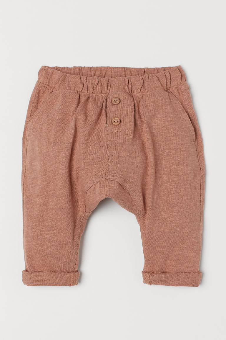 Cotton trousers - Light brown - Kids | H&M
