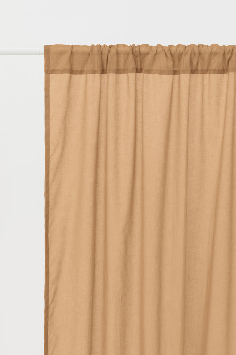 2-pack gardinlängder - Beige - Home All | H&M FI