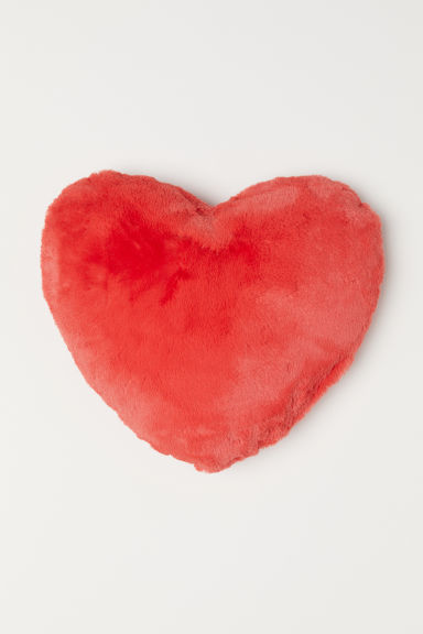 Heart-shaped cushion - Red - Home All | H&M CN