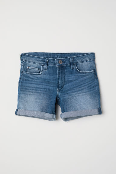Shorts in denim - Blu denim - BAMBINO | H&M IT