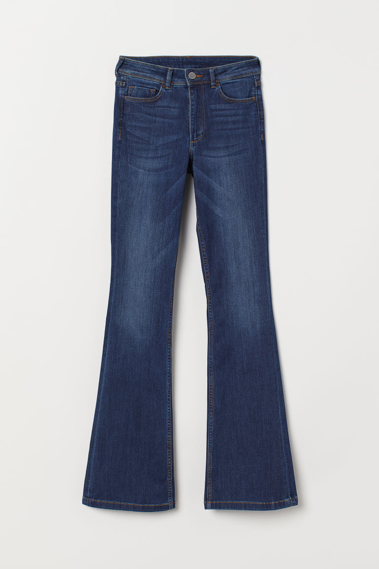 Mini Flare Regular Jeans - Denim blue - Ladies | H&M