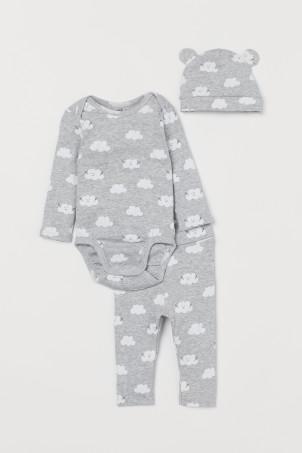 36e10c4914f Babysæt og heldragter – Praktisk babytøj   H&M DK
