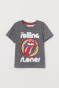 Grey marl/The Rolling Stones