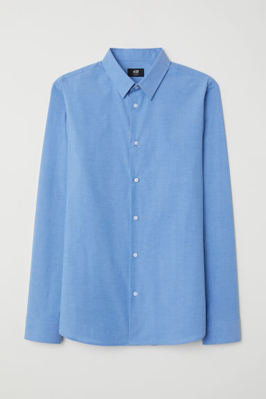 Shirt Muscle Fit - Light blue -  | H&M IE