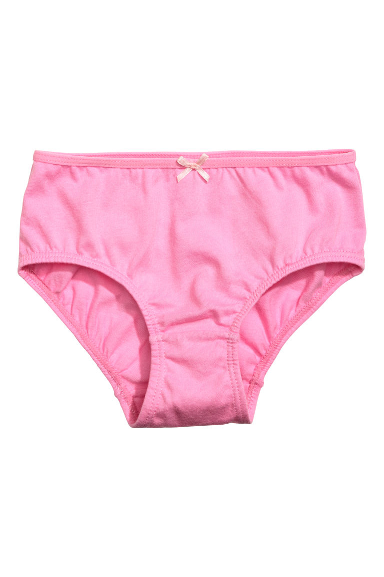 5-pack briefs - Powder pink - Kids | H&M
