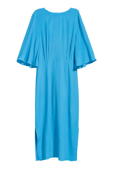 Crêpe dress - Light blue - Ladies | H&M IE