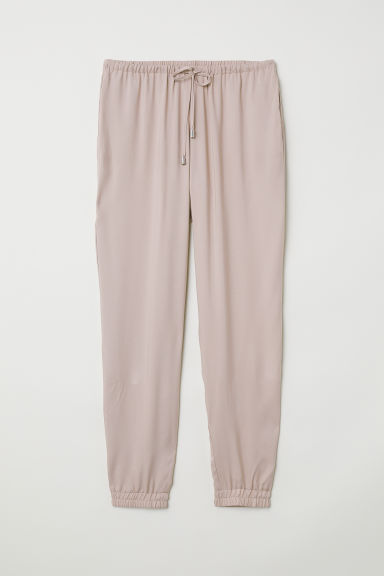 Pull-on trousers - Dark powder pink - Ladies | H&M